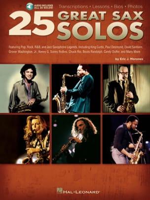 25 Great Sax Solos Partition Saxophone - laflutedepan