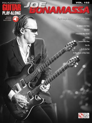 Guitar Play-Along Volume 152 Joe Bonamassa Joe Bonamassa laflutedepan