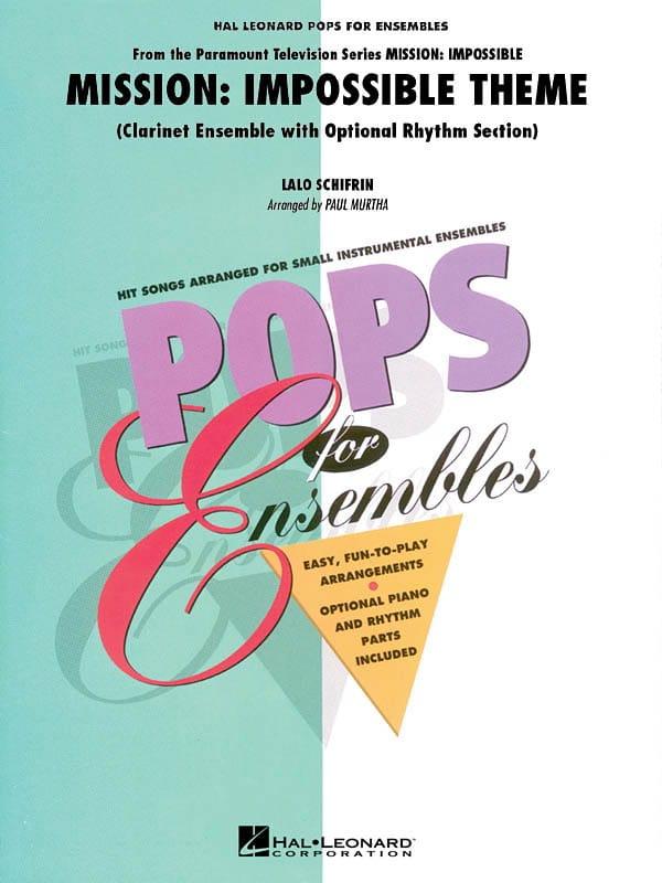 Mission: Impossible Theme - Pops for Ensembles - laflutedepan.com