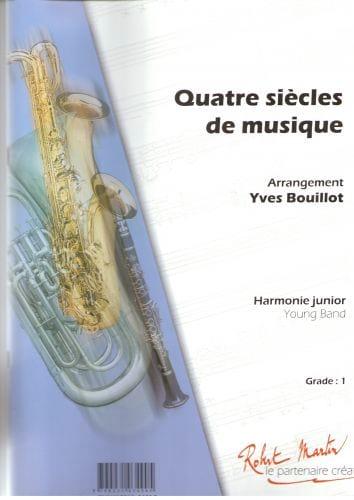 Quatre Siècles de Musique - Partition - laflutedepan.com