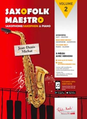 Saxofolk maestro volume 2 Partition Saxophone - laflutedepan