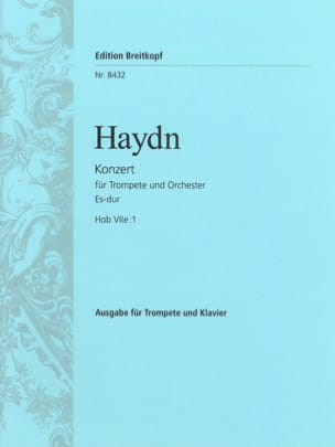Concerto N° 1 en mi bémol Majeur pour trompette HAYDN laflutedepan