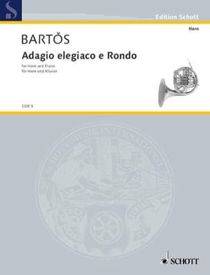 Adagio Elegiaco E Rondo J.Z. Bartos Partition Cor - laflutedepan
