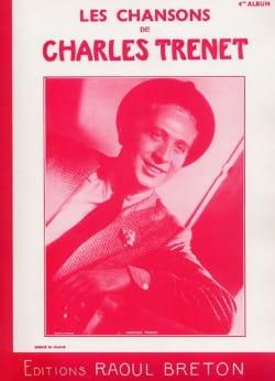 Les Chansons de Trenet Album N° 4 Charles Trenet laflutedepan