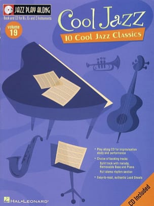 Jazz play-along volume 19 - Cool Jazz - Partition - di-arezzo.co.uk