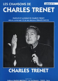 Charles Trenet - The Songs of Trenet Album N ° 5 - Partition - di-arezzo.co.uk