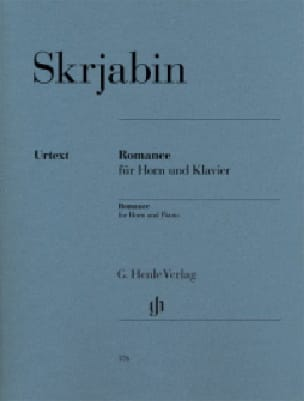 Romance - Alexander Skrjabin - Partition - Cor - laflutedepan.com
