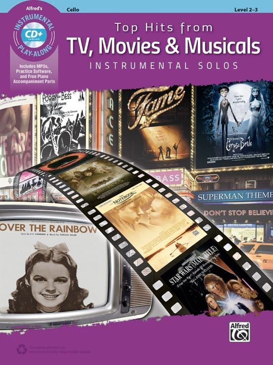 Top Hits from TV - Violoncelle - Partition - laflutedepan.com