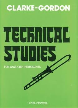 Technical Studies Clarke Herbert L. / Gordon Claude laflutedepan