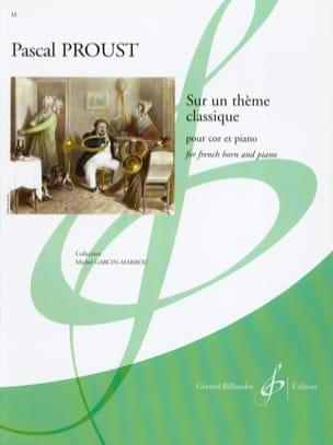 Pascal Proust - En un tema clásico - Partition - di-arezzo.es