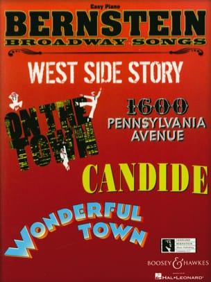 Bernstein Broadway Songs - Easy Piano - BERNSTEIN - laflutedepan.com
