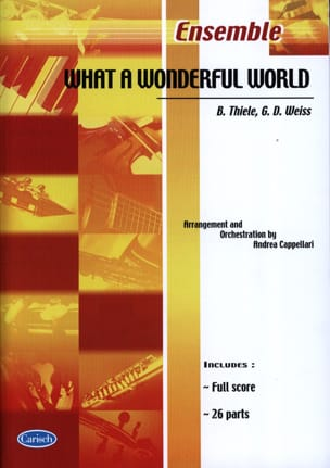 What A Wonderful World Louis Armstrong Partition laflutedepan