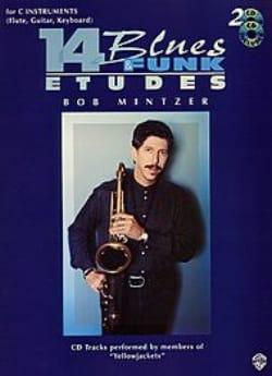 14 Blues & Funk Etudes Bob Mintzer Partition laflutedepan