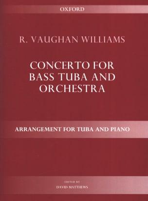Concerto WILLIAMS VAUGHAN Partition Tuba - laflutedepan