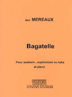 Bagatelle Max Méreaux Partition Tuba - laflutedepan