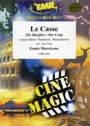 Le Casse - Musique du Film - Ennio Morricone - laflutedepan.com