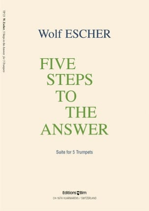 5 Steps To the Answer Wolf Escher Partition Trompette - laflutedepan