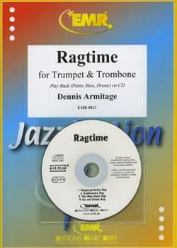 Ragtime Dennis Armitage Partition Ensemble de cuivres - laflutedepan