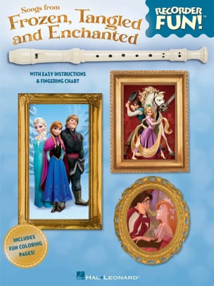 Recorder Fun! Songs From Frozen, Tangled And Enchanted laflutedepan