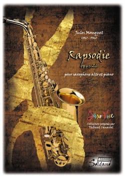 Rapsodie Opus 26 Jules Mouquet Partition Saxophone - laflutedepan