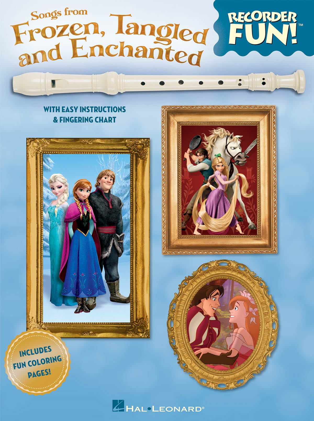 Recorder Fun! Songs From Frozen, Tangled And Enchanted - laflutedepan.com