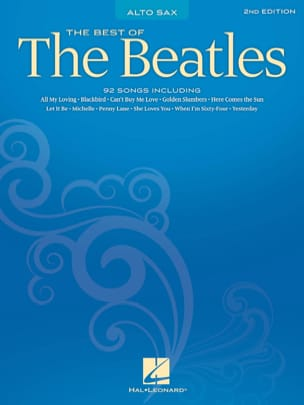 The Best Of The Beatles BEATLES Partition Saxophone - laflutedepan