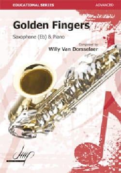 Golden Fingers Van Dorsselaer, Willy Partition laflutedepan