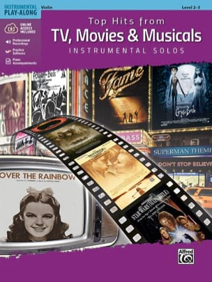 Top Hits from TV, Movies & Musicals Instrumental Solos for Strings - laflutedepan.com