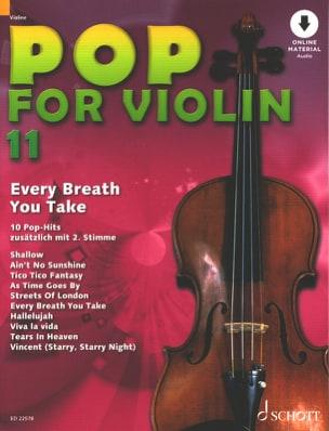 Pop for Violin Volume 11 - Every Breath You Take laflutedepan