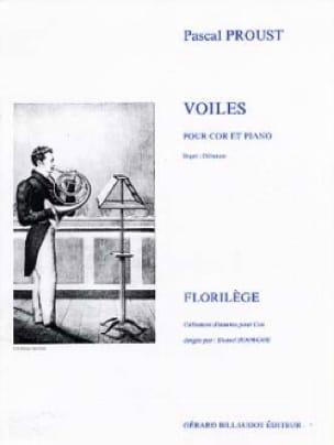 Voiles - Pascal Proust - Partition - Cor - laflutedepan.com