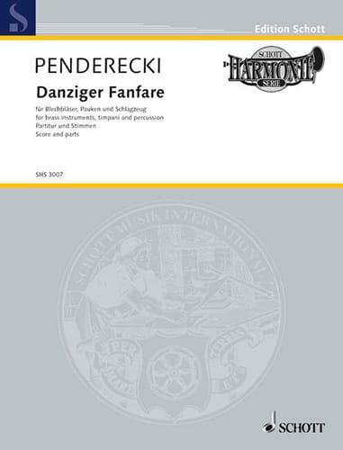 Danziger Fanfare - PENDERECKI - Partition - laflutedepan.com
