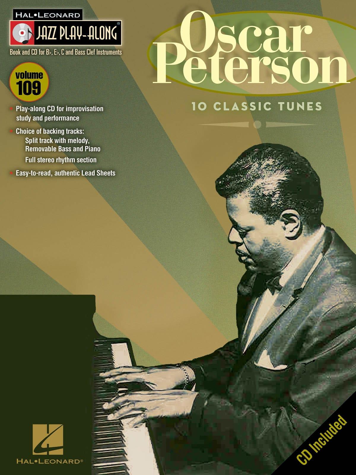 Jazz Play-Along Volume 109 - Oscar Peterson - laflutedepan.com