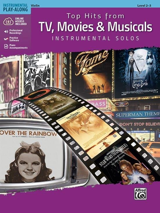 Top Hits from TV - Violon - Partition - Violon - laflutedepan.com