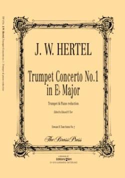 Trumpet Concerto N° 1 In Eb Major Johann Wilhelm Hertel laflutedepan