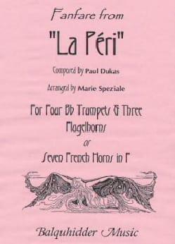 Fanfare from La Peri DUKAS Partition Trompette - laflutedepan