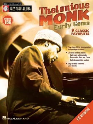 Jazz Play-Along Volume 156 - Thelonious Monk - Early Gems - laflutedepan.com