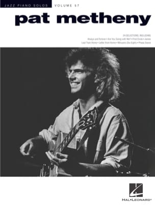 Jazz Piano Solos Series Volume 57 - Pat Metheny laflutedepan