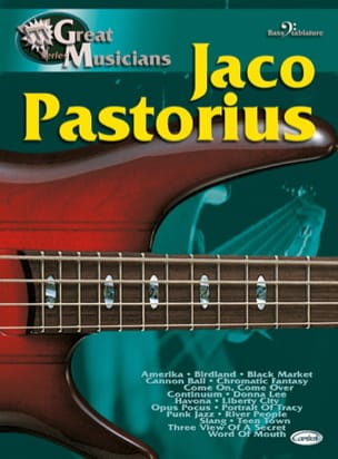 Jaco Pastorius - Serie Great Musicians - Partition - di-arezzo.es