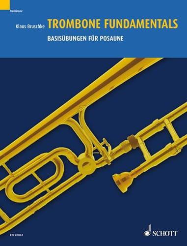 Trombone Fundamentals - Klaus Bruschke - Partition - laflutedepan.com