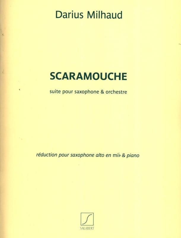 Scaramouche - MILHAUD - Partition - Saxophone - laflutedepan.com