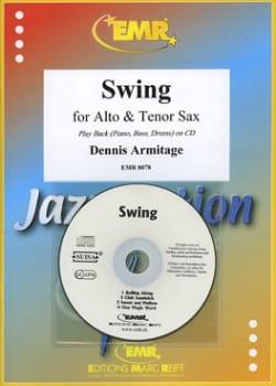 Swing - Duo de Saxophones Dennis Armitage Partition laflutedepan