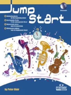 Jump Start Peter Blair Partition Clarinette - laflutedepan