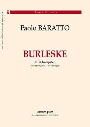 Burleske Paolo Baratto Partition Trompette - laflutedepan