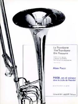 Pièce en ré mineur dans le style de Haendel Alain Pucci laflutedepan