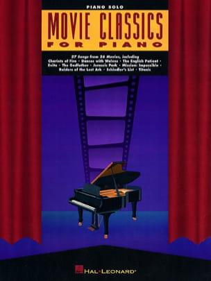 - Movie Classics For Piano - Partition - di-arezzo.co.uk