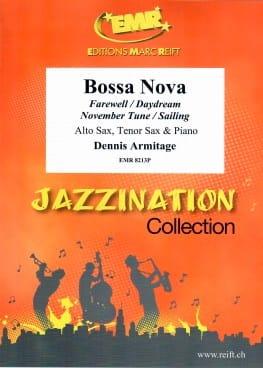 Bossa Nova Dennis Armitage Partition Saxophone - laflutedepan