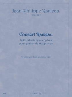Concert Rameau - RAMEAU - Partition - Saxophone - laflutedepan.com