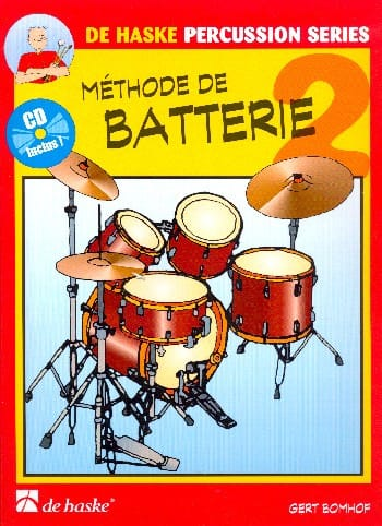 Méthode de Batterie Volume 2 - Gert Bomhof - laflutedepan.com