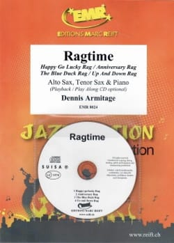 Ragtime Dennis Armitage Partition Saxophone - laflutedepan