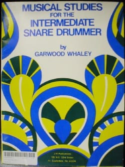 Musical Studies For The Intermediate Snare Drummer laflutedepan